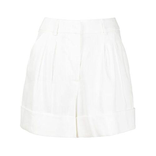 Seventy Shorts met opgerolde zoom - Wit