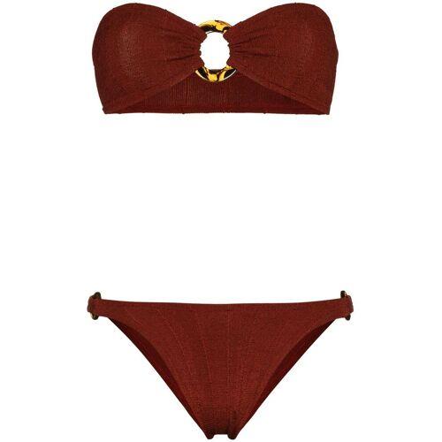 Hunza G Bandeau bikini - Bruin