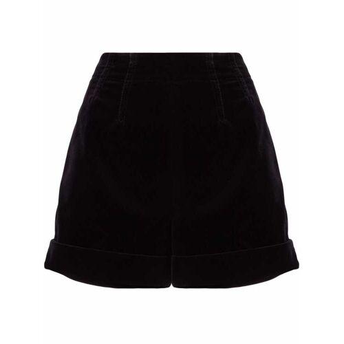 Etro Shorts met opgerolde zoom - Zwart