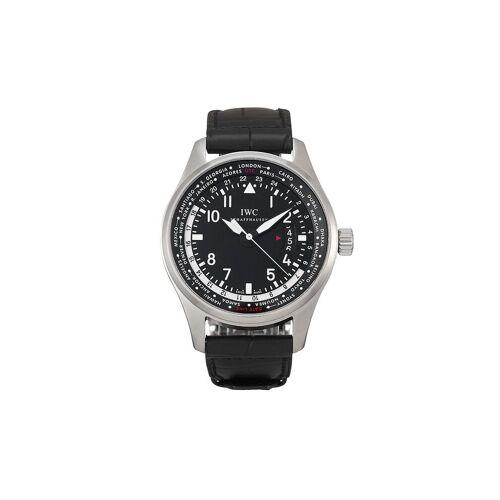 IWC Schaffhausen 2011 pre-owned Ingenieur horloge - Zwart
