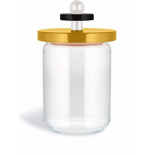 Alessi Glazen pot - Geel
