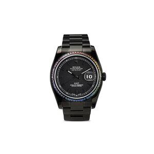 MAD Paris Rolex Datejust horloge - BLACK / MULTICOLOUR
