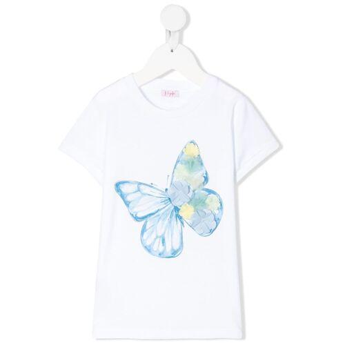 Il Gufo T-shirt met applicatie - Wit