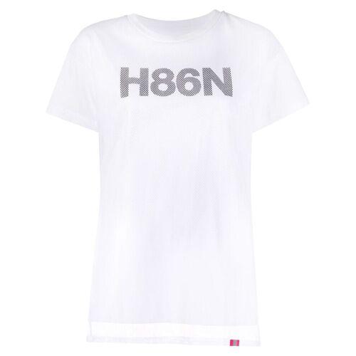 Hogan T-shirt met grafische print - Wit