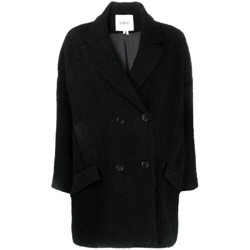Ba&Sh; Mantel met dubbele rij knopen - Zwart