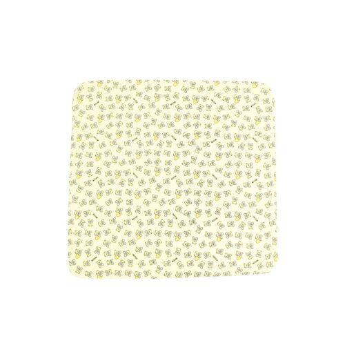 Moschino Kids Katoenen deken - Geel