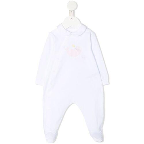 Il Gufo Pyjama met zeehondenprint - Wit