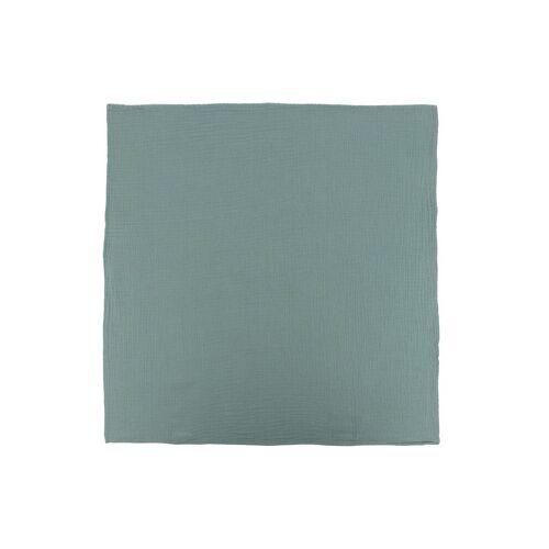Bonton Katoenen deken - Groen