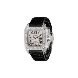 Cartier Pre-owned Cartier Santos 100 XL horloge - BLACK
