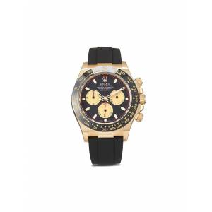 Rolex Pre-owned Cosmograph Daytona horloge - BLACK