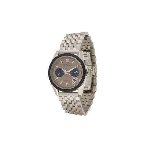 MARCH LA.B Agenda Automatisch horloge - Bruin