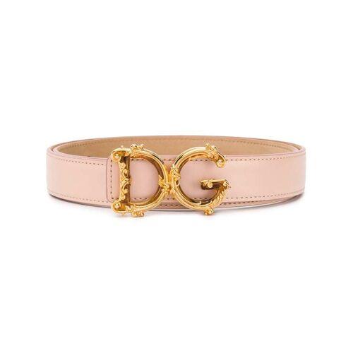 Dolce & Gabbana Riem met barok gesp - Roze