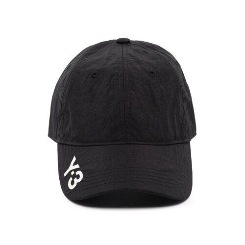 Y-3 Honkbalpet met logo - Zwart