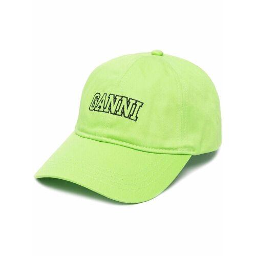 GANNI Honkbalpet - Groen
