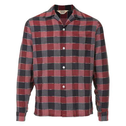 Alpha Fake Alpha Vintage 1950's rockabilly shirt - Rood