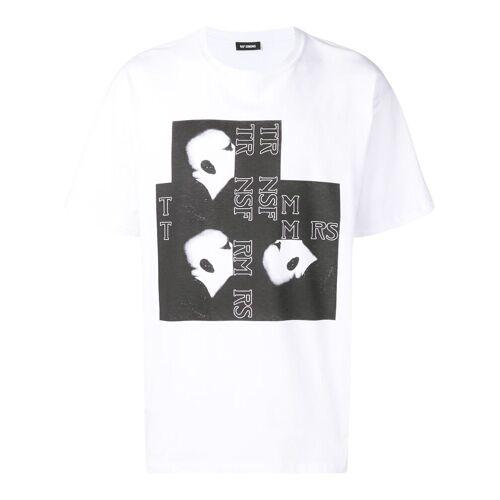 Raf Simons T-shirt met grafische print - Wit