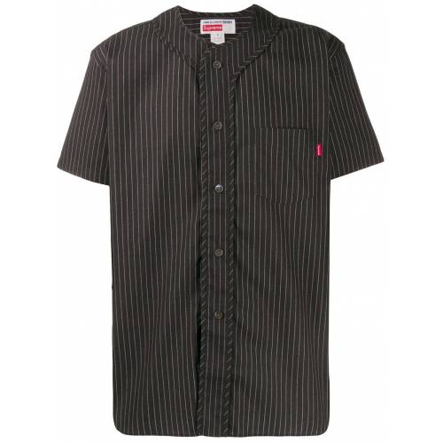 Supreme Honkbal top - Zwart