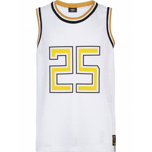 Fendi Basketbal jersey - Wit