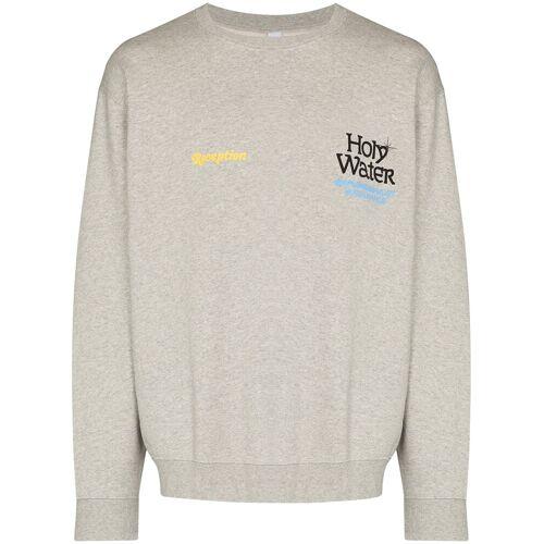 Reception Sweater met tekst - Grijs
