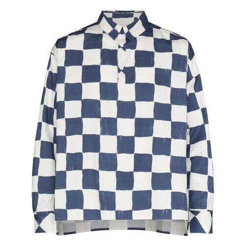 Reception Overhemd met print - Blauw