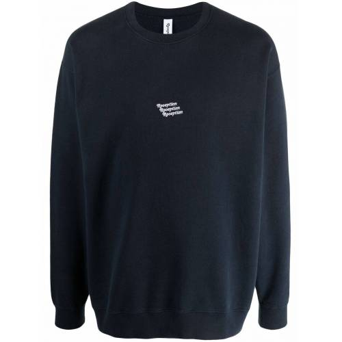Reception Katoenen sweater - Blauw