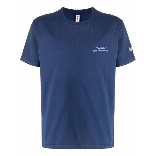 Reception Katoenen T-shirt - Blauw