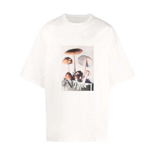 OAMC T-shirt met grafische print - Wit