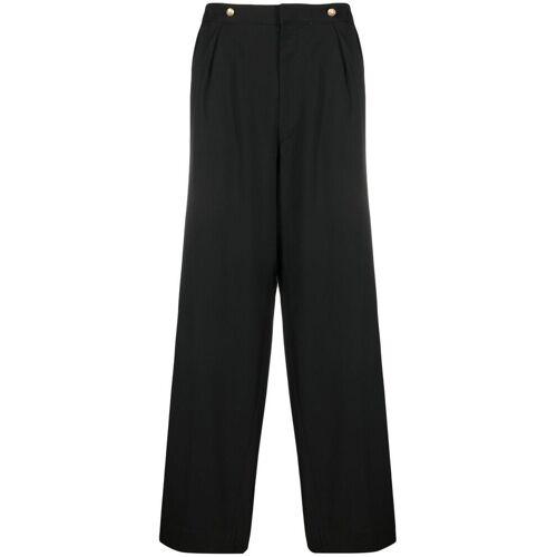 Wales Bonner Straight pantalon - Zwart