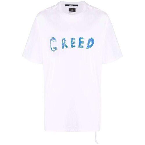Ksubi T-shirt met grafische print - Wit