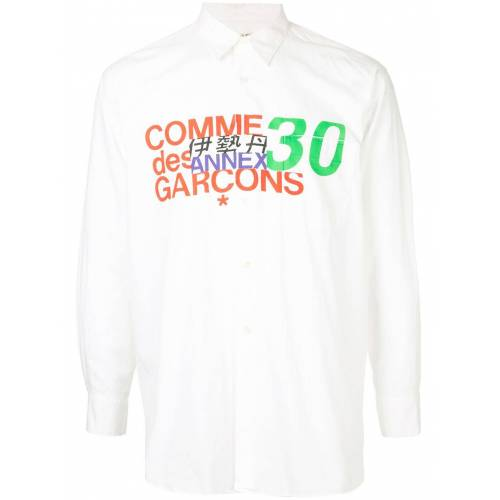 Comme Des Garçons Pre-Owned Blouse van bijlage 30 - Wit