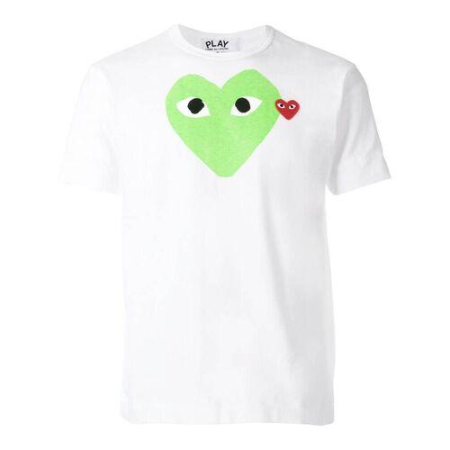 Comme Des Garçons Play T-shirt met grafische print - Wit