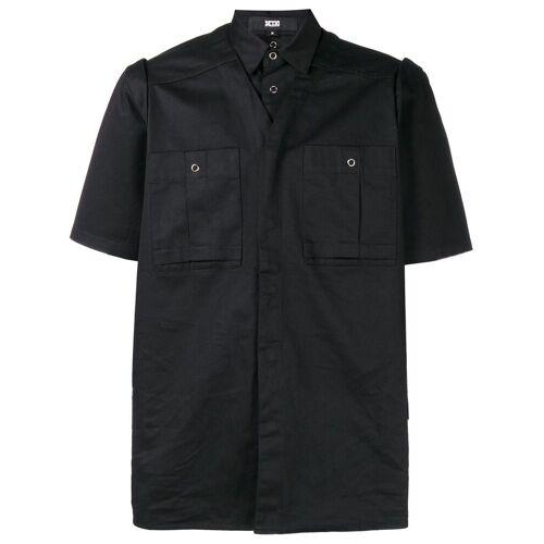 KTZ T-shirt met afneembare laag - Zwart