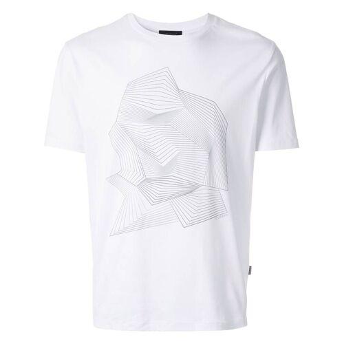 D'urban T-shirt met grafische print - Wit
