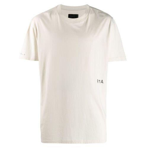 RtA T-shirt met grafische print - Nude