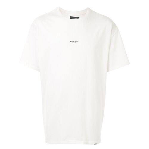 Represent T-shirt met logoprint - Wit
