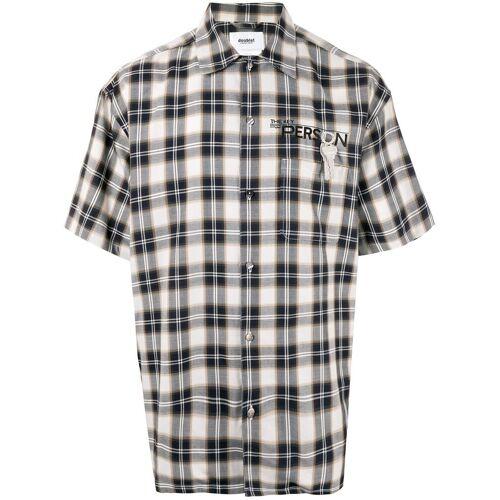 Doublet Geruit overhemd - Zwart
