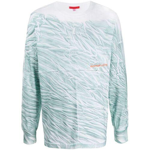 Eckhaus Latta T-shirt met print - Wit