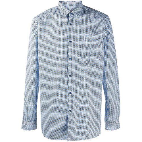 Boss Hugo Boss Overhemd met wolken print - Blauw