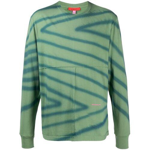 Eckhaus Latta T-shirt met print - Groen