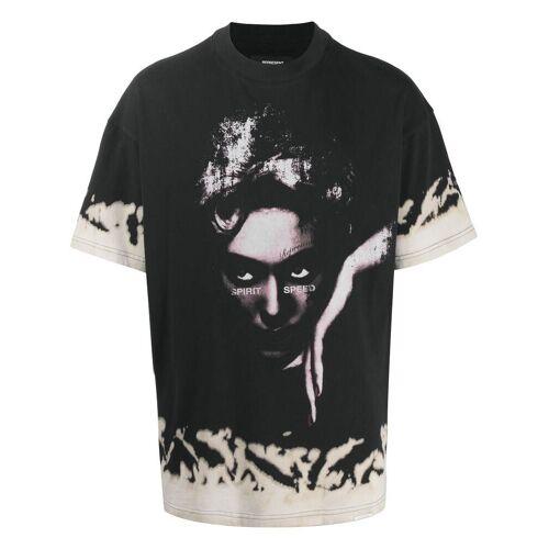 Represent T-shirt met print - Zwart