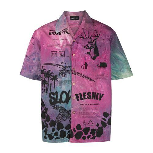 Mauna Kea Bowlingshirt - Paars