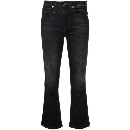 R13 Bootcut jeans - Zwart
