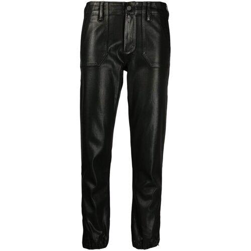 PAIGE Gecoate jeans - Zwart