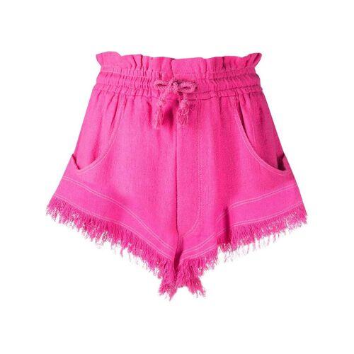 Isabel Marant Shorts met trekkoord - Roze