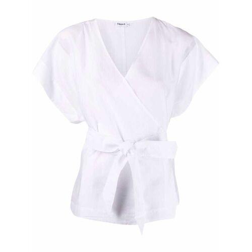 Filippa K Gewikkelde blouse - Wit