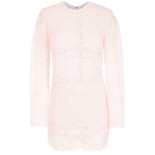 Nk Mini-jurk met bloemenkant - Roze