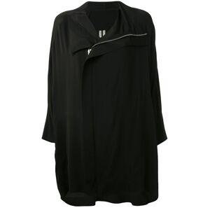 Rick Owens Asymmetrische jas - Zwart