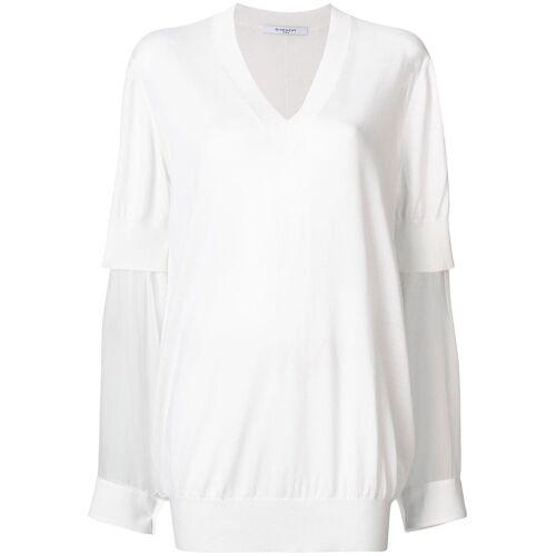 Givenchy trui met doorlopende mouw - Wit