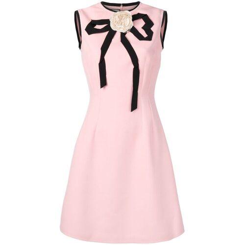 Gucci jurk met rozen applicaties