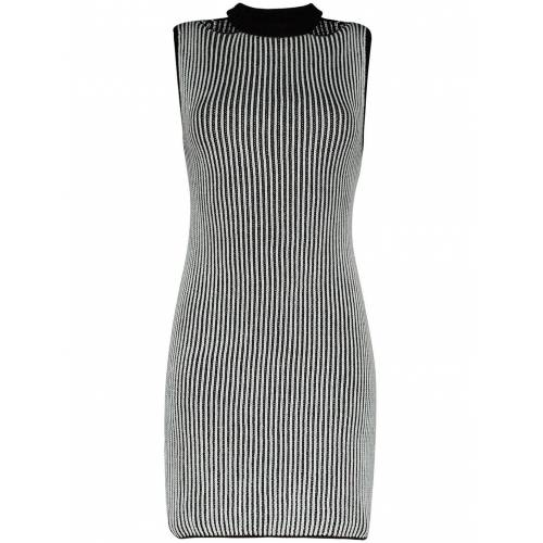 Eckhaus Latta Mini-jurk - Zwart